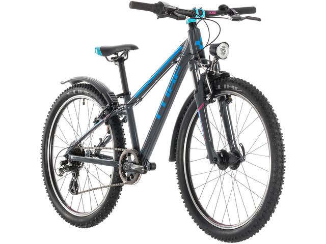 Cube Access 240 Allroad Børnecykel grå (2019) | City-cykler